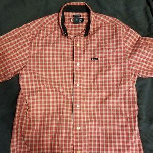 Mens Chaps Easy Care Plaid Shirt